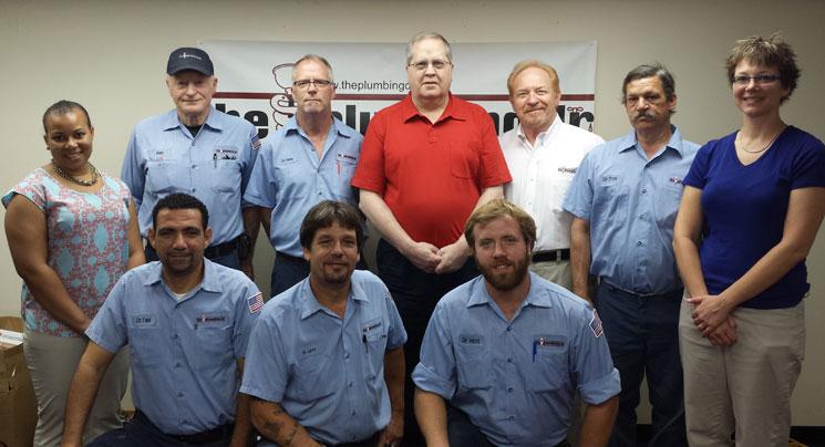 Arlington Plumber - The Plumbing Dr. - Staff