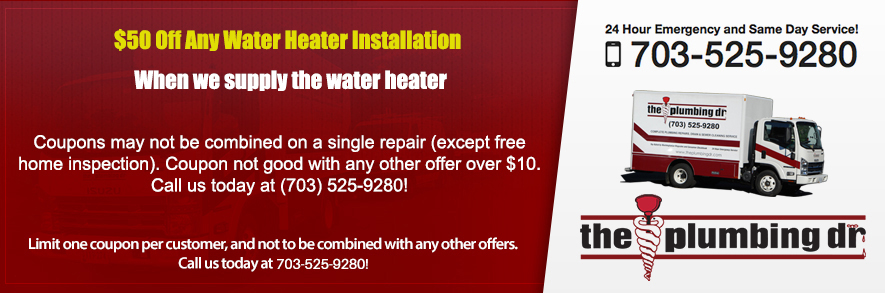 Discounts on Any Water Heater Installation