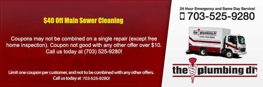 Discounts on Main Sewer Cleaning