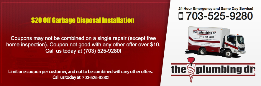 Discounts on Garbage Disposal Installation