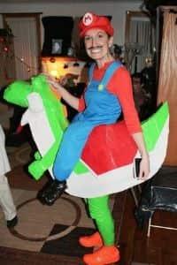 mario plumber costume