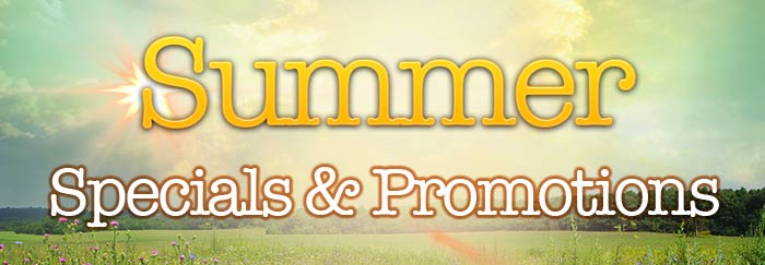 Spring Specials & Promotions